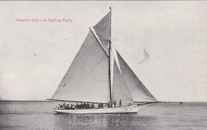 A Sailing Party, ATLANTIC CITY, New Jersey, 1900-1910s