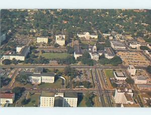 Unused Pre-1980 AERIAL VIEW OF TOWN Tallahassee Florida FL F8283