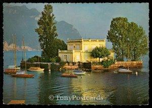 Ile de Salagnon a Montreux