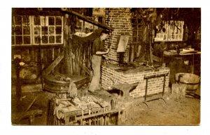 MA - Old Sturbridge Village. Blacksmith Shop