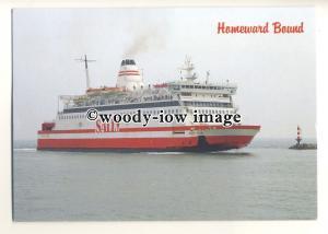 FE1471 - Sally Line Ferry - Sally Star , built 1981 ex Travemunde - postcard