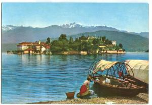 Italy, Lago Maggiore, Isola Bella, 1965 used Postcard