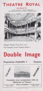 Double Image Roger McDougall Ted Allen Theatre Royal Margate Kent Programme