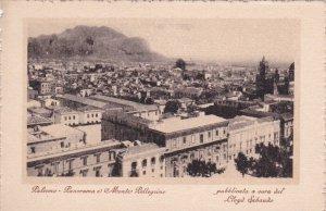 PALERMO , Italy , 1910-20s ; Panorama e Monte Pellegzino