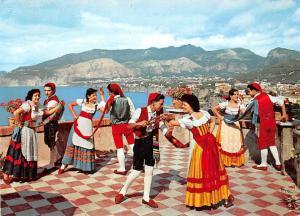Italy Sorrento The Tarantella Dancers Panorama