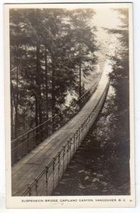 RPPC, Suspension Bridge, Carilano Canyon, Vancouver BC