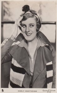RP; 1930-40's; Actress Cicely Courtneidge, A Gaumont British Star, TUCK No.121
