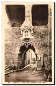 Old Postcard Dinan Gate Jersual (Côte Noed)