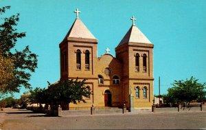 New Mexico Las Cruces Albino's Church At Mesilla
