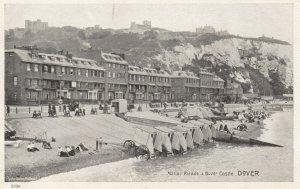 DOVER , England , 1900-10s ; Marine Parade & dover Castle