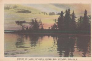 Sunset on Lake Nipissing - North Bay, Ontario, Canada