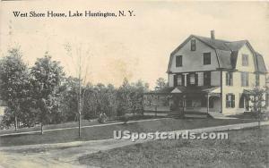 West Shore House Lake Huntington NY 1917