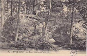 MONT-AIGU, La Roche de Proserpine, Franche-Comte, France, PU-1925