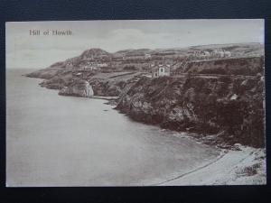 Ireland Dublin HILL OF HOWTH Coast - Old Postcard by Hely's Ltd of Dublin