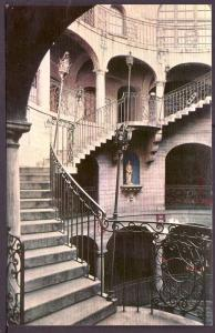 Rotunda Mission Inn Riverside CA Union Oil Post Card PC2418