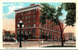 Nebraska Hastings Hotel Clarke Curteich