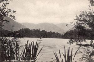 Lake Kanieri New Zealand Antique Postcard