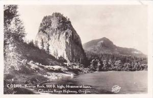 Oregon Columbia River Highway Beacon Rock 900 Feet High 16 Acres At Base Real...