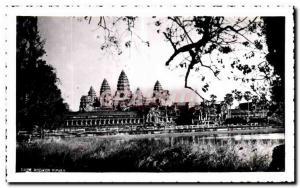 Postcard Modern Cambodia Angkor