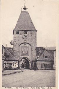 France Mutzig La Tour Carree Porte de la Ville