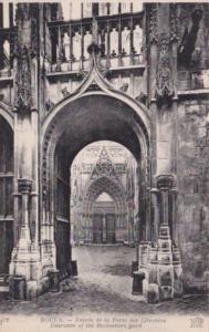 France Rouen Entree de la Porte des Libraires