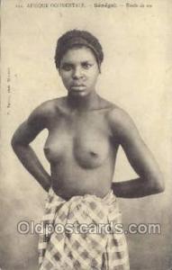 Afrique Occidentale Senegal Etude de nu African Nude Nudes Postcard Post Card...
