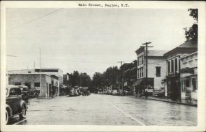 Naples NY Main St. Old Postcard