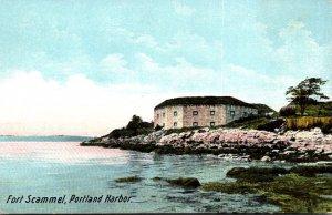 Maine Portland Fort Scammel