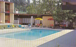 Canada Salmon Arm Motor Hotel and Swimming Pool Salmon Arm British Columbia
