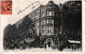 CPA Paris 9e - Theatre du Vaudeville (273848)
