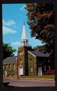 ME Henderson Memorial Baptist Church Farmington Maine Postcard PC