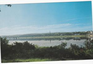Saint John River, Railway Bridge, Christ Church Cathedral,Parliament Building...
