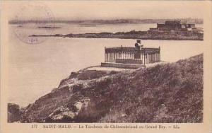 France Saint Malo Le Tombeau de Chateaubriand au Grand Bey