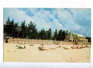 190477 BERMUDA Elbow beach surf Club Vintage photo postcard