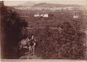 Veduta Generale Albano Laziale Contorni di Roma, ITALY , 1890s