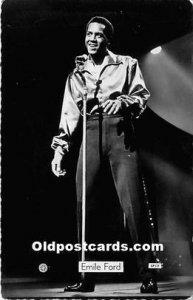 Emile Ford Black Entertainer Unused