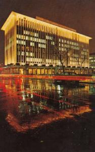 Washington D C National Geographic Headquarters Agleam By Night