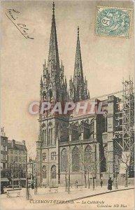 Old Postcard Clermont Ferrand La Cathedrale