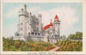 Casa Loma Toronto Ontario ON Unused Jack Bain Postcard G16