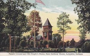 Indiana Lafayette Parade Ground And Old Peoples Home And State Soliders Home