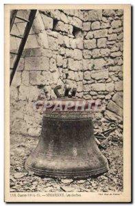 Old Postcard Soissons Bell Bells