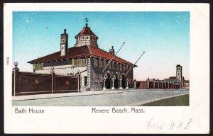Revere Beach, MA - Bath House - early copper windows -