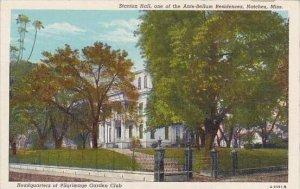 Mississippi Natchez Stanton Hall One Of The Ante Bellum Residences Headquarte...
