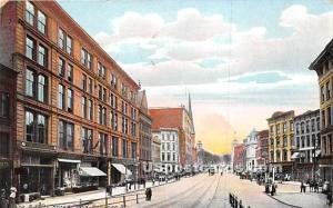 Arcade & Genesee Street Utica NY 1911