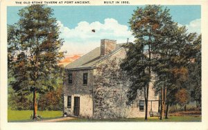 F52/ Fort Ancient Ohio c1910 Stone Tavern Building Nativer American Area