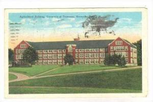 Agricultural Building, University Of Tennessee, Knoxville, Tennessee, 1900-1910s