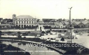 Columbia Cartagena Inependence Centenary Park Real Photo