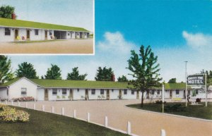 Iowa Keokuk Knotty Pine Motel sk6384