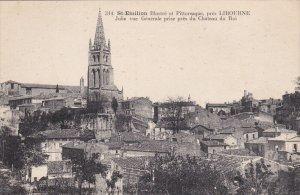 ST. EMILION, Gironde, France, 1900-910's; Jolie Vue Generale Prise Pres Du Ch...