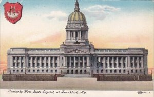 Kentucky New State Capitol At Frankfort Kentucky